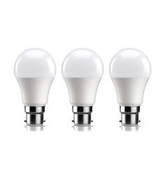 Syska SSK-PAG Cool White 7W LED Bulb - Set of 3