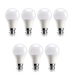 Syska SSK-PAG Cool White 9W LED Bulb - Set of 7