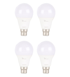 Syska White 9W LED Bulb - Set of 4