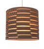 Sylvn Studio Brown Corrugated Board Wishing Well Pendant