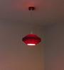 Sylvn Studio Pink Flying Saucer Corrugated Board Pendant