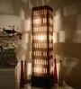 Sylvn Studio Sierra Beige Brown Floor Lamp