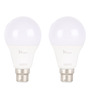 Syska White 9W LED Bulb - Set of 2