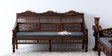 Taksh Handcrafted Three Seater Sofa in Provincial Teak Finish by Mudramark