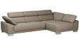 Taustin L Shape Sofa in Light Grey Colour by Madesos
