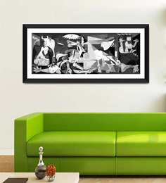 Tallenge Photographic Paper 24 X 1 X 12 Inch Modern Masters Collection Guernica By Pablo Picasso Framed Digital Art Print