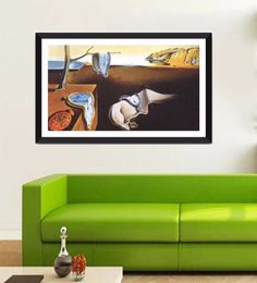 Tallenge Photographic Paper 24 X 1 X 12 Inch Modern Masters Collection The Persistence Of Memory By Salvador Dali Framed Digital Art Print