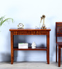 Tacoma Console Table in Honey Oak Finish by Woodsworth