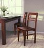 Tacoma Premium Acacia Wood Dining Chair in Honey Oak Finish by Woodsworth