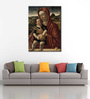 Tallenge Canvas 43 x 1 x 61 Inch Madonna with Child by Giovanni Bellini Framed Large Digital Art Print