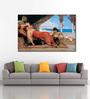 Tallenge Canvas 68 x 1 x 43 Inch Favorite of The Emir by Jean Joseph Benjamin Constant Framed Large Digital Art Print