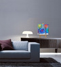 Tallenge Canvas 7 x 7 Inch   Night Framed Digital Art Prints
