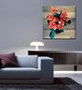Tallenge Canvas 15 x 15 Inch  Multicolor Roses Frame Framed Digital Art Prints