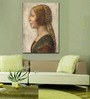 Tallenge Gallery Wrap Canvas 18 x 24 Inch Old Masters Collection Profile of A Young Fiancee by Leonardo Da Vincis Framed Digital Art Prints