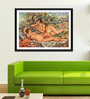 Tallenge Photographic Paper 12 x 18 Inch Old Masters Collection The Bathers by Pierre-Auguste Renoirs Framed Digital Art Prints