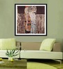 Tallenge Photographic Paper 18 x 18 Inch Old Masters Collection Mother & Child by Gustav Klimts Framed Digital Art Prints