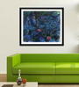 Tallenge Photographic Paper 18 x 24 Inch Old Masters Collection Water Lilies by Claude Monets Framed Digital Art Prints