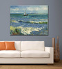 Tallenge Rolled Canvas 36 x 48 Inch Old Masters Collection Seascape Near Les Saintes-Maries-De-La-Mer by Vincent Van Gogh Unframed Digital Art Prints