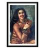 Tallenge Paper 12 x 0.5 x 17 Inch Amrita Sher Gil Self Portrait Framed Digital Poster