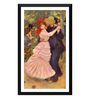 Tallenge Paper 12 x 0.5 x 17 Inch Dance At Bougival Framed Digital Poster