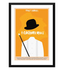 Tallenge Paper 12 x 0.5 x 17 Inch Hollywood Collection A Clockwork Orange Art Framed Digital Poster