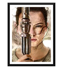 Tallenge Paper 12 x 0.5 x 17 Inch Hollywood Collection Rey from Star Wars Vii The Force Awakens Digital Painting Framed Digital Poster