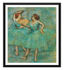 Tallenge Paper 16 x 0.5 x 18 Inch Two Dancers Framed Digital Poster