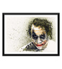 Tallenge Paper 17 x 0.5 x 12 Inch Hollywood Collection Heath Ledger As The Joker Batman The Dark Knight Framed Digital Poster