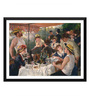 Tallenge Paper 18 x 0.5 x 14 Inch Pierre Auguste Renoir Luncheon of The Boating Party Framed Digital Poster