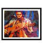 Tallenge Paper 18 x 0.5 x 14 Inch The Musician Framed Digital Poster