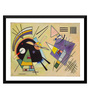 Tallenge Paper 18 x 0.5 x 14 Inch Wassily Kandinsky Composition Viii Framed Digital Poster