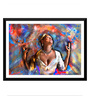 Tallenge Paper 24 x 0.5 x 17 Inch The Heart of Soul Framed Digital Poster