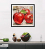 Tallenge Photographic Paper 12 x 1 x 12 Inch Art For Kitchen The Fruit Of The Spirit Framed Digital Art Print