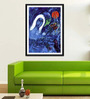 Tallenge Photographic Paper 12 x 1 x 18 Inch Modern Masters Collection Champs De Mars by Marc Chagall Framed Digital Art Print