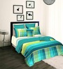 Tangerine Aquacado Multicolour Cotton Double Duvet Cover
