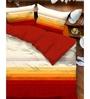 Tangerine Scarlet Sunset Single Bedsheet Set