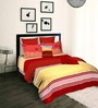 Tangerine Scarlet Sunset Double Bed Duvet Cover