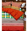 Tangerine Turq Tango Double Bed Duvet Cover