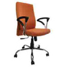 Tango High Back Ergonomic Chair in Orange by Starshine