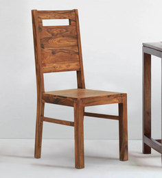 Temecula Dining Chair In Light Walnut Finish By The ArmChair