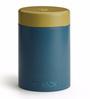 TeaBox Blue Cylindrical 100 ML Jar with Lid