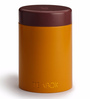 TeaBox Orange Cylindrical 100 ML Jar with Lid