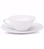 Teabox Spire White Porcelain 275 ML Cup & Saucer