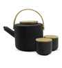 TeaBox Stony Brooke Stoneware Tea Set - Set Of 6