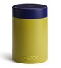 TeaBox Yellow Cylindrical 100 ML Jar with Lid