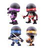 Teenage Mutant Ninja Turtles Action Vinyl Figures 4-Pack Stealth 8 cm