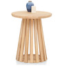 Tempe Side Table in Natural Finish by The ArmChair