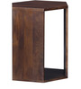Elkhorn End Table in Provincial Teak Finish by Woodsworth