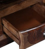 Toledo Bed Side Table in Provincial Teak Finish by Woodsworth