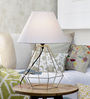 Barton Table Lamp in White by Bohemiana